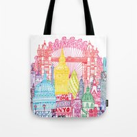 London Towers Tote Bag