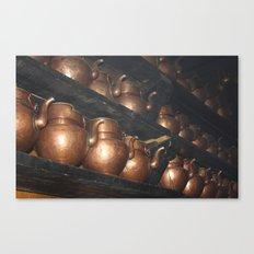 Copper Pitchers Canvas Print