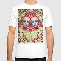 Amazon By Alex Garant Mens Fitted Tee White SMALL
