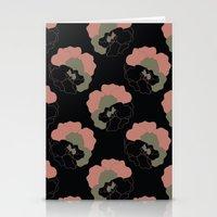 Pansy Flower Garden Stationery Cards