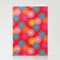 Happy retro 2 Stationery Cards