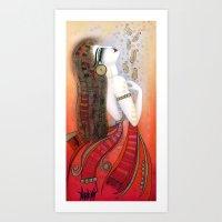 SOUL VIOLINS Art Print