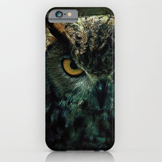 Owl - Owlish Tendencies iPhone & iPod Case