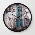 Medieval Sicilian Facade Wall Clock