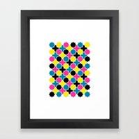 CMYK IV Framed Art Print