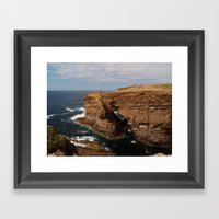 At Yesnaby Framed Art Print