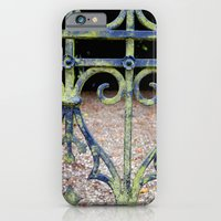 iPhone & iPod Case featuring Heart and swirls by Marieken