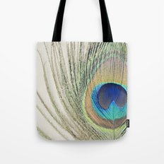 Peacock Feather No.2 Tote Bag