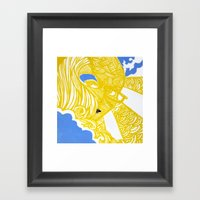 Night And Day Color Framed Art Print