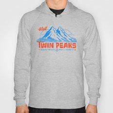 Visit Twin Peaks (orange… Hoody