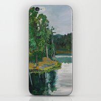 Sheridan Trees iPhone & iPod Skin
