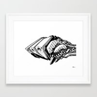 Machine object I Framed Art Print