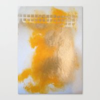 Gold Untitled 2 Canvas Print