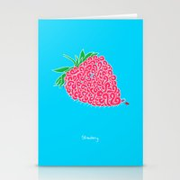 Strawberry. Stationery Cards