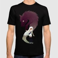 Werewolf Mens Fitted Tee Black SMALL