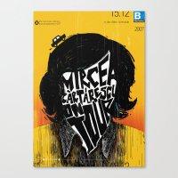 Mircea Cartarescu on tour Canvas Print