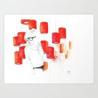 Solitudine Art Print