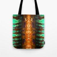 Alien Temple  Tote Bag
