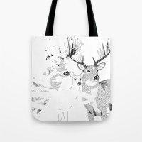Deers Tote Bag
