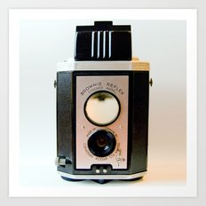 Brownie Reflex Art Print