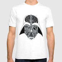 Celtic Vader Mens Fitted Tee White SMALL