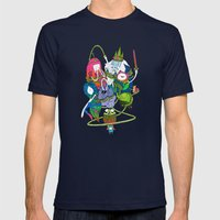 Adventure Time fan art celebration! Mens Fitted Tee Navy SMALL