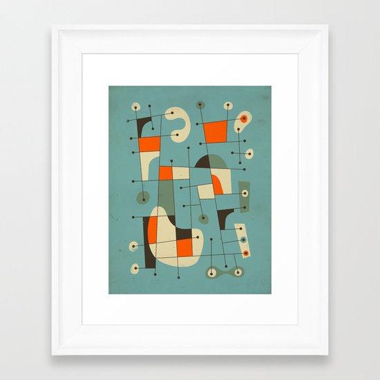 Background Music Framed Art Print