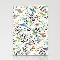 Hummingbirds of North America Field Guide  Stationery Cards
