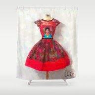 O'h So Frida  Shower Curtain