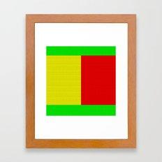 Idle Framed Art Print