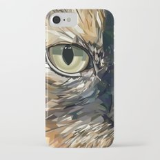 Stevie Cat iPhone 7 Slim Case