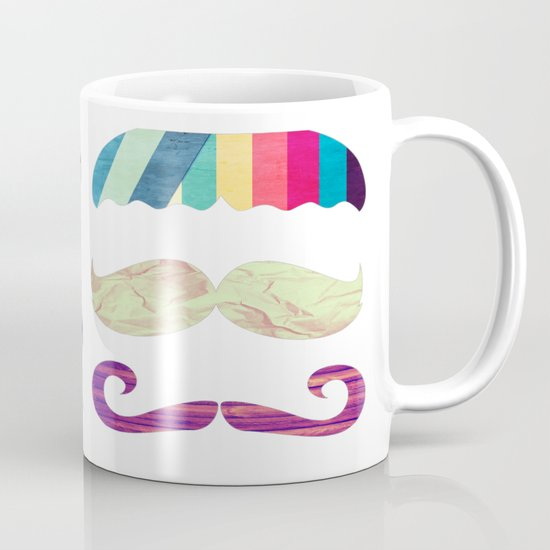 mustache BOOM Mug