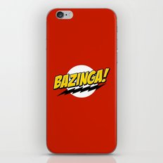 Bazinga! iPhone & iPod Skin
