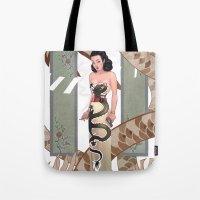 Dragon Lady Tote Bag