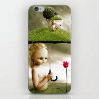 Eve's Umbrella iPhone & iPod Skin