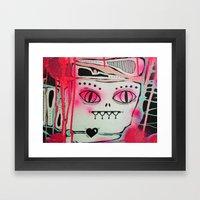 Hidden Monster Framed Art Print