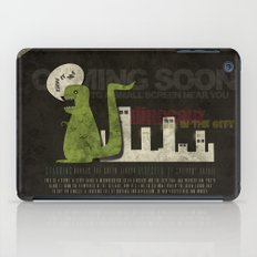 Dinosaur in the City iPad Case