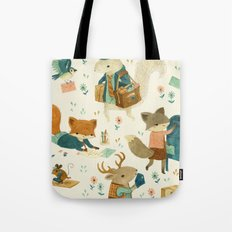 Critter Post Tote Bag
