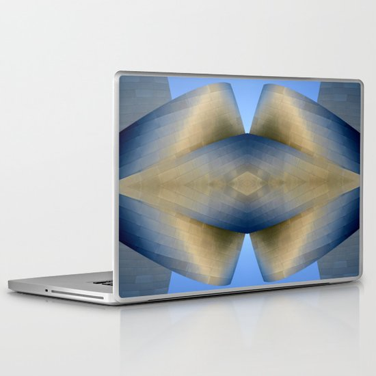 The Scream of Nature / Disney Hall Laptop & iPad Skin