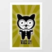 Wake Up! No. 3 Art Print