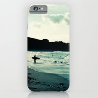 surf iPhone & iPod Cases featuring Surf by Hilary Upton