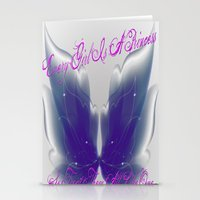 Princess Stationery Cards
