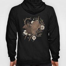 Floral Elk Hoody