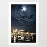 And The Moon To Rule The… Art Print