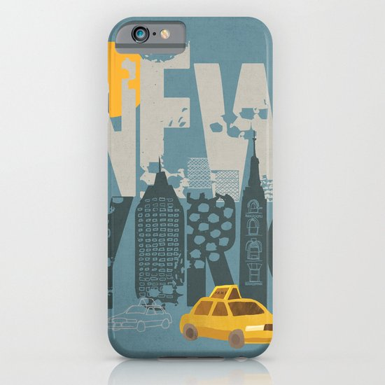 New York! New York! iPhone & iPod Case