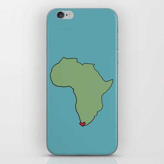 Ali Hearts Cape Town iPhone & iPod Skin
