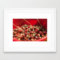 Wild Strawberries  4119 Framed Art Print