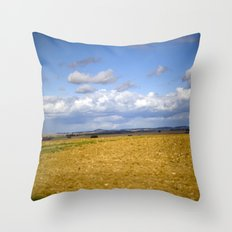 German Countryside Throw Pillow