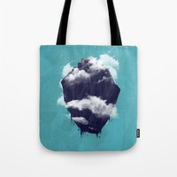 Floating City Tote Bag
