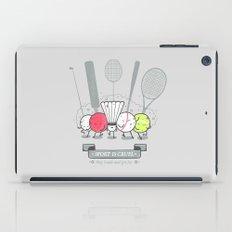 Sport is cruel iPad Case